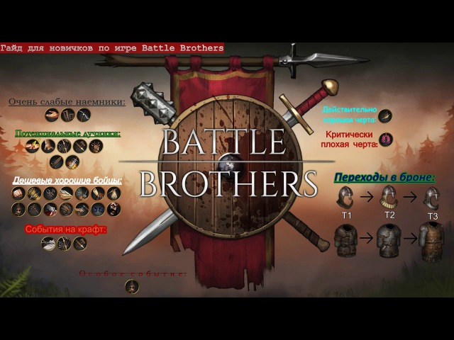 Гайд для новичков по игре Battle Brothers