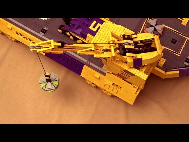 Massive Lego Landship Khagaan