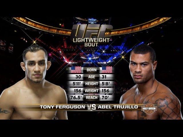 UFC 216 Free Fight: Tony Ferguson vs Abel Trujillo - Fightwear.ru