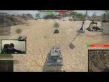 Реакция стримера Moriarty tv на World of Tanks.