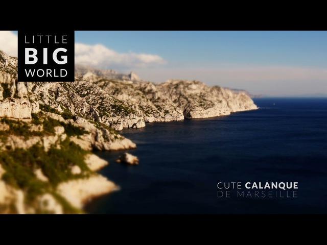 Calanque de Marseille (4k - Time lapse - Tilt-Shift)