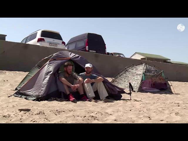 Ветер на ТВ: русские автостопщики в Азербайджане