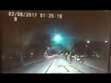 Check out this INCREDIBLE video of the #meteor this morning as viewed from a Lisle, IL police car dash cam! Thanks to Lisle PD f