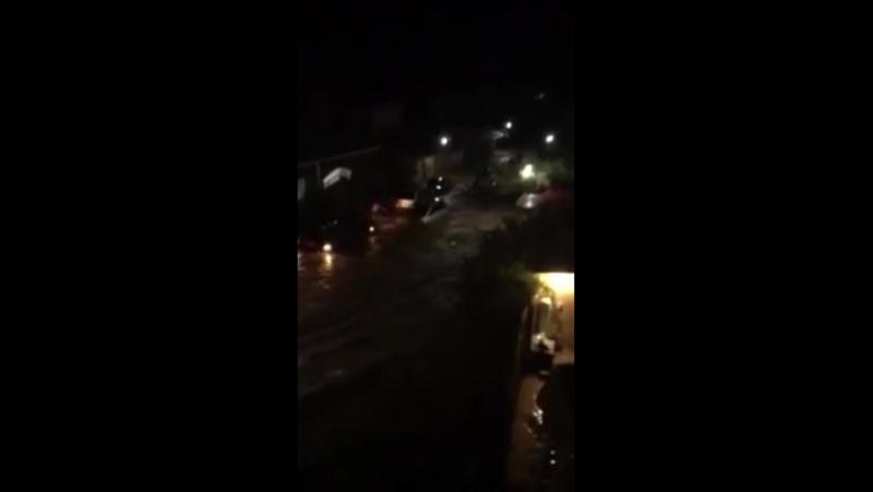 Наводнение в Судаке после ливня 18.08.2017 » Freewka.com - Смотреть онлайн в хорощем качестве
