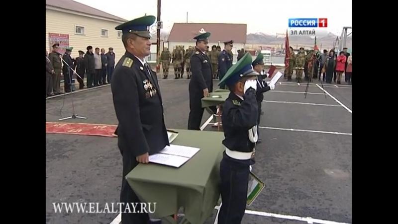 В Кош - Агачском районе присягу принял первый пограничный кадетский класс