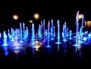 Поющие фонтаны в парке Горького в Казани