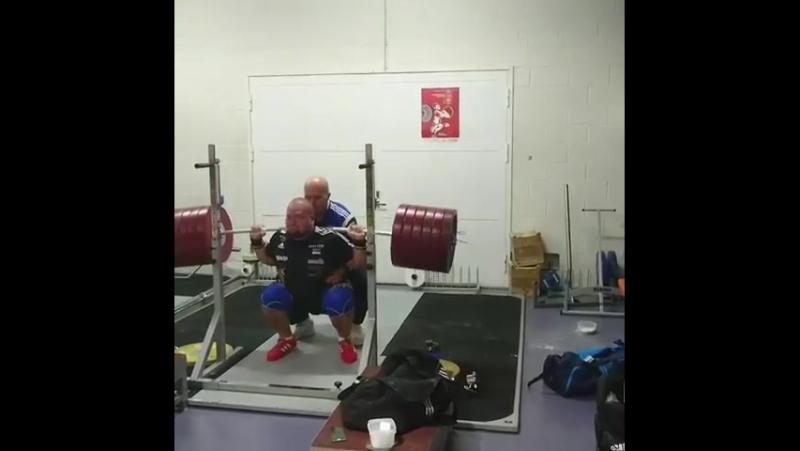 Mart Seim. 320 кг на 6