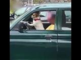 Когда батя учит водить, а тебе 7 лет)