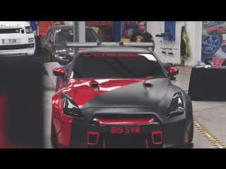 Liberty Walk Nissan GT-R R35 Reveal