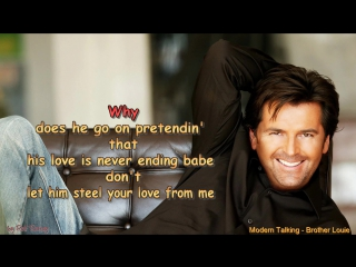 Modern Talking Brother Louie Instrumental with Choir