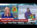 Ураган Ирма у берегов Флориды. Hurricane Irma at West Coast Florida