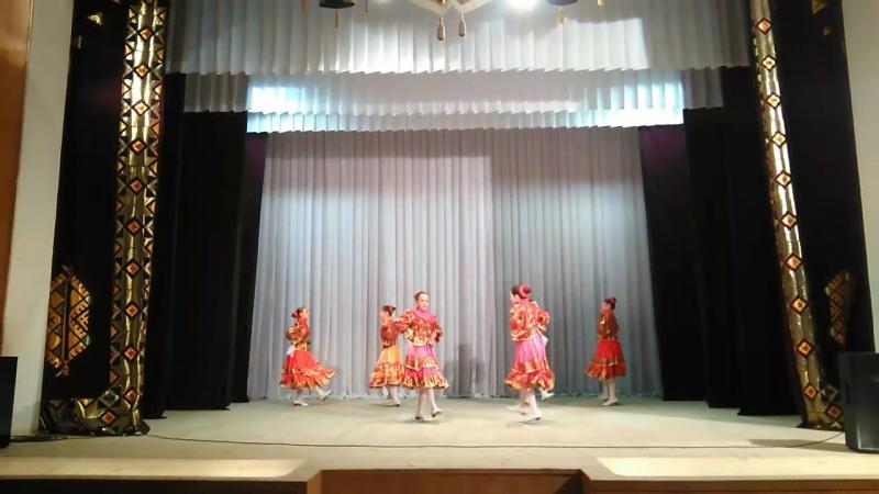 Девичий казачий танец Виктория