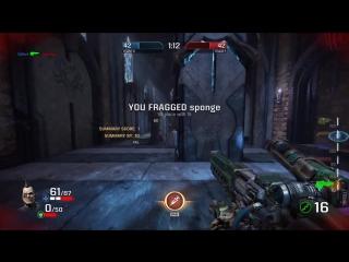 Геймплейное видео Quake Champions