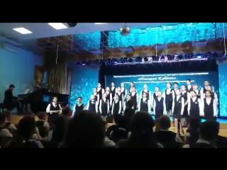 Кубанские синие ночи. Солисты - Дмитрий Пономаренко и Олеся Глущенко, дирижер - Арушанян Ариана.