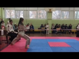 Орлова Ольга, 1 место на Чемпионате и Первенстве Самарской области по Ката.25 Марта 2017