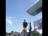 June 5: Fan taken video of Justin performing 'Sorry' in Aarhus, Denmark.