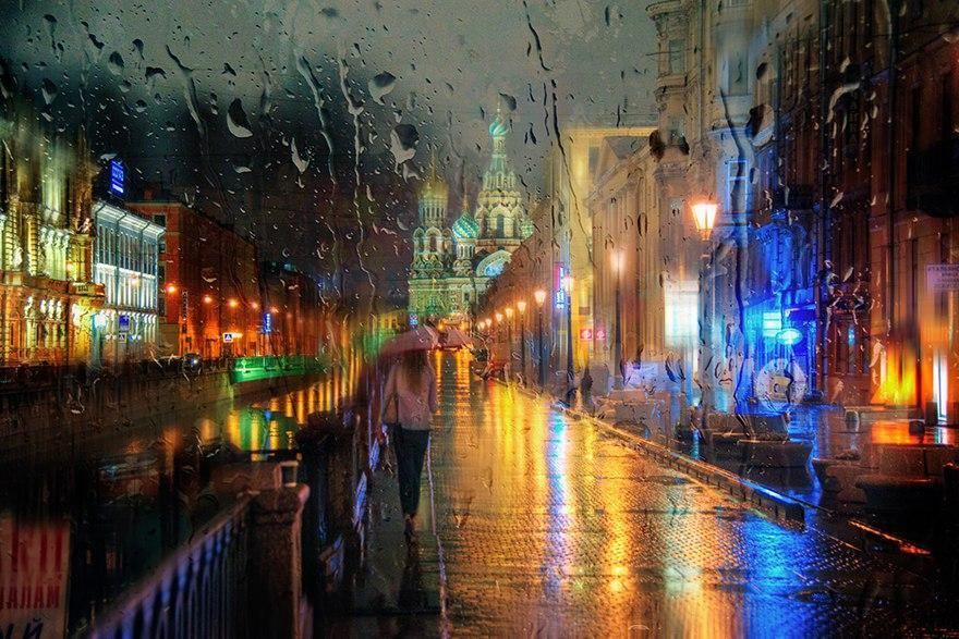 NKJTCOloHHo - Дождливые пейзажи фотографа Эдуарда Гордеева