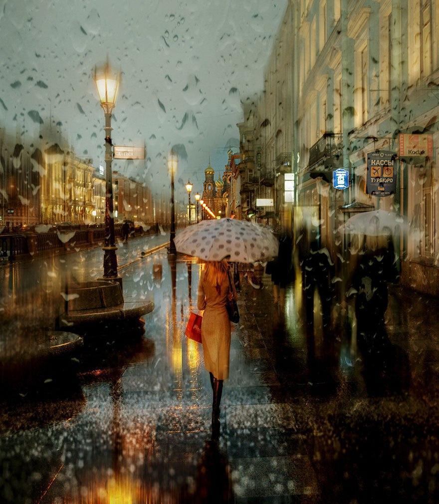 Дождливые пейзажи фотографа Эдуарда Гордеева