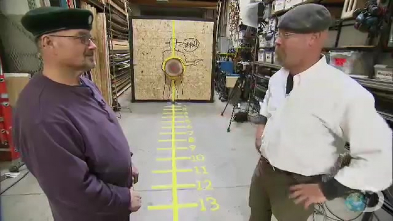 Knife Throwing 101 _ Mythbusters