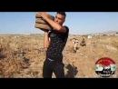 Герои сил Соколы эль-Кунейтры взорвали укрепления боевиков Джебхат ан-Нусры в районе Oфания