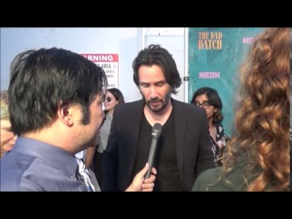 Interview with Keanu Reeves for The Bad Batch