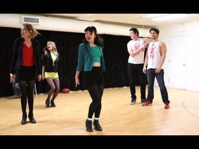 Heathers The Musical Off Broadway rehearsal clips