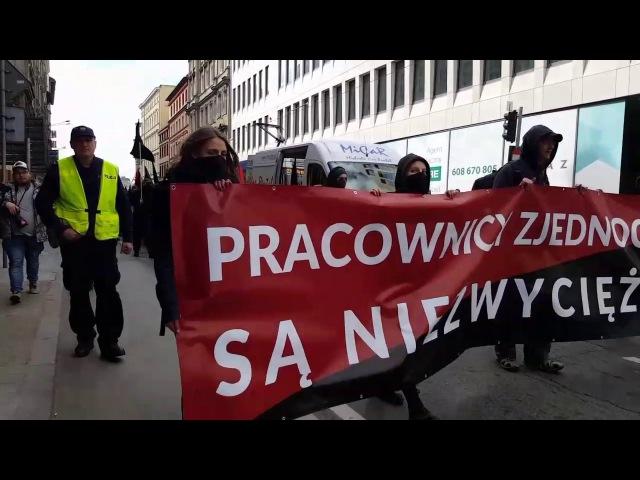 Demonstracja 1 majowa Wrocław 2017