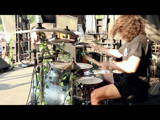 In Hearts Wake - Earthwalker [Conor Ward] Drum Video Live [HD]