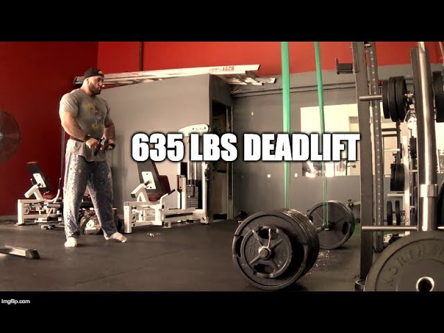 Antoine Vaillant - Gaining back some strength! Rev band 635lbs deadlifts