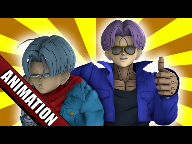 SFM DBZ Future Future Trunks Warns Future Trunks ft GaoGaiKingTheGreatVA SeigiVA Nowacking