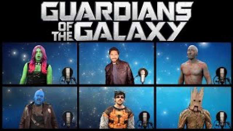 GUARDIANS OF THE GALAXY VOL 2 ACAPELLA MEDLEY (Ft. Chad Neidt)
