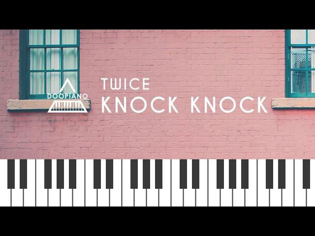 트와이스 (TWICE) - Knock Knock Piano Cover