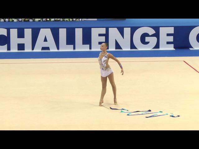 Сабина Аширбаева - лента (многоборье) - World Challenge Cup, Kazan, Россия - 2017.