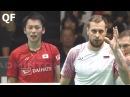 Takeshi KAMURA Keigo SONODA vs Vladimir IVANOV Ivan SOZONOV Badminton 2017 Japan Open Quarter Final