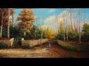 Oil Painting Landscape ( Palette Knife ) By Yasser Fayad