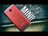 Bluboo Mini (винно-красный) - распаковка и краткий обзор на английском языке