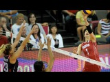 22 July 2015  USA vs Japan  2015 FIVB Volleyball World Grand Prix