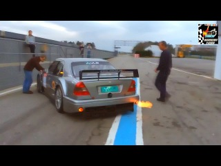 Mercedes C-Class V6 DTM Amob Racing Test (Pure Sound) HD