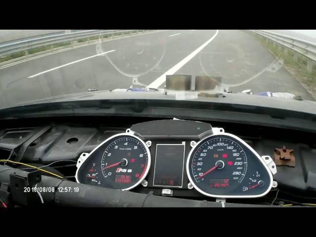 Golf 4 RS V10 1267HP acceleration 0-315 Kmh GOGI Racing