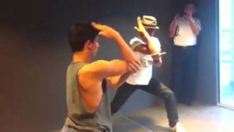 Tony Jaa practice with a guest