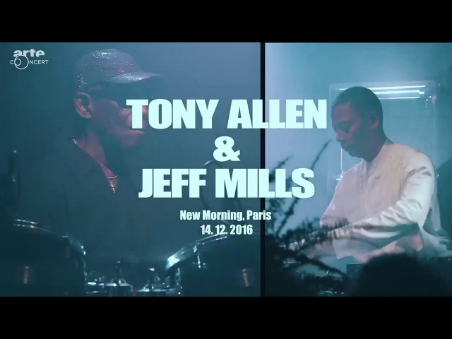 Jeff Mills Tony Allen @ New Morning