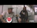 BETTER QUALI (INFIDELIX ft. EllandM) - girl joins rapper in Berlin subway for impromptu jam session