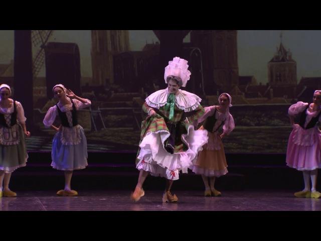 «Танец в сабо» . Исполняют : Николай Цискаридзе и артистки балета Михайловского театра