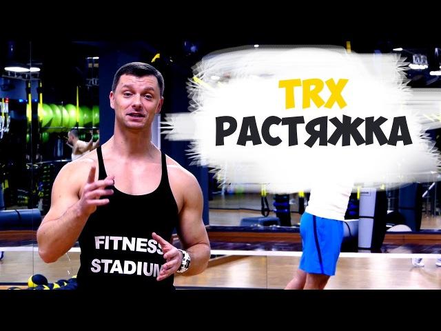 Растяжка мышц пресса, грудных и дельтовидных мышц на TRX - Александр Мельниченко