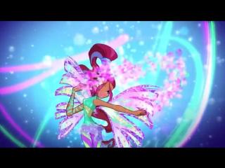 Winx Club - Aisha_Layla All Full Transformations up to Tynix! HD