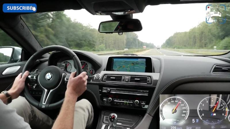 2017 BMW M6 TOP SPEED AUTOBAHN » Freewka.com - Смотреть онлайн в хорощем качестве