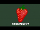 Learning for kids - Lets Learn about Fruit cartoon - starring hungry Chameleon