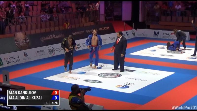 Alan Kankulov vs Ala Aldin Al-Kuzai WorldPro17 bjf_нашилюди