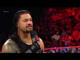 WWE.COM #RAW: Roman Reigns Challenges John Cena To A Fight, Live On #RAW (9/4/2017)