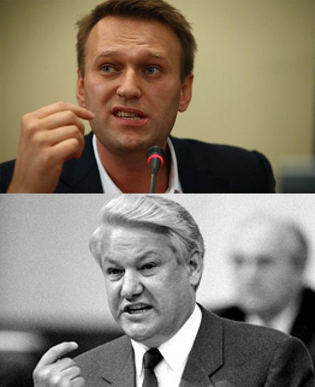 Чем похожи Ельцин и Навальный?